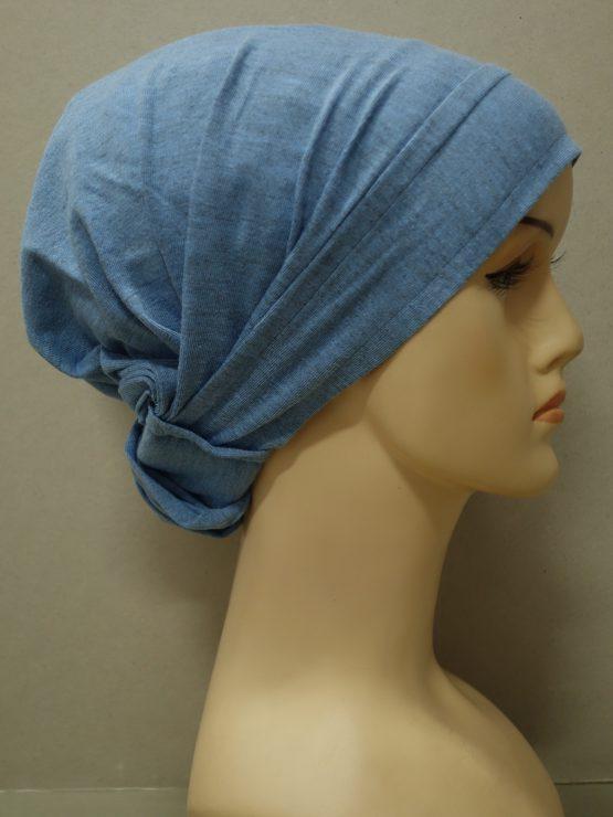 Niebieski melanż chusta