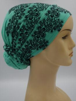 Miętowy turban