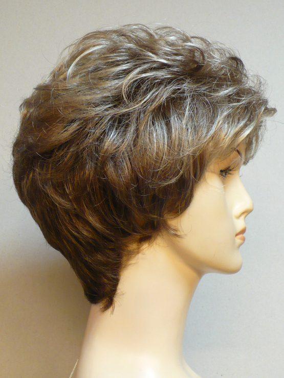 Krótka peruka kręcona blond