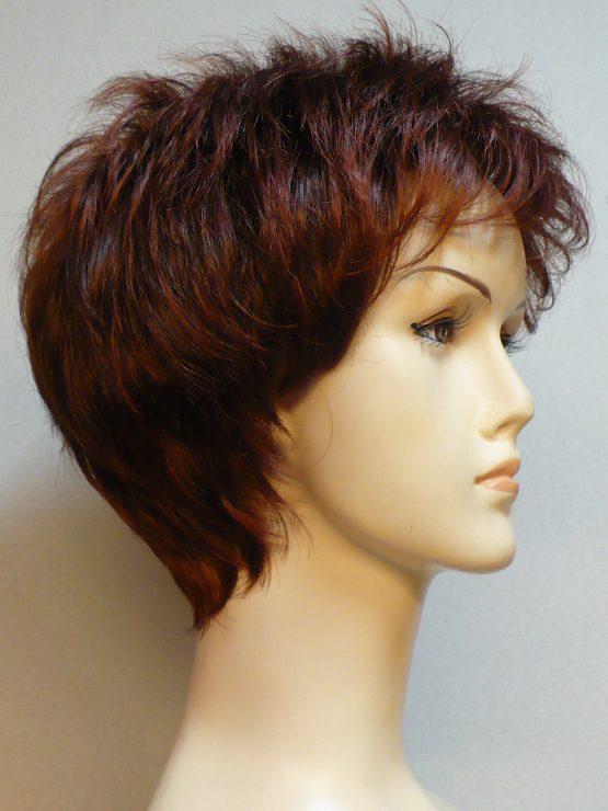 """Krótka peruka ruda """"jeżyk"""""""