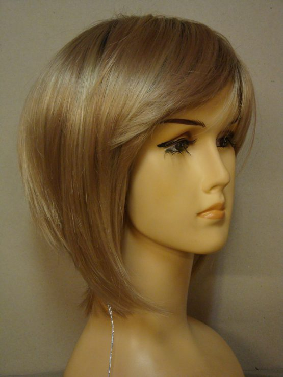 Krótka peruka jasny blond na monotopie