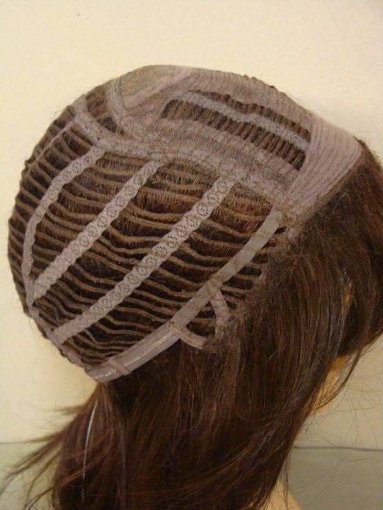 Długa peruka brąz wycieniowana