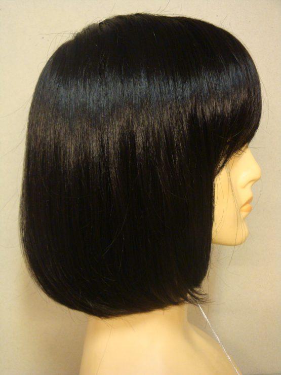 Krótka peruka czarna