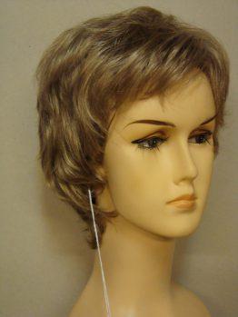 Krótka peruka blond