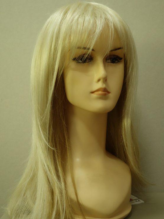 Długa peruka blond
