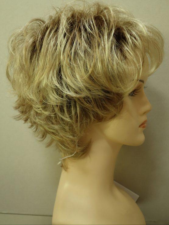Krótka peruka mix blondów