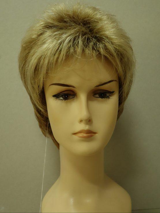 "Krótka peruka blond ""jeżyk"""