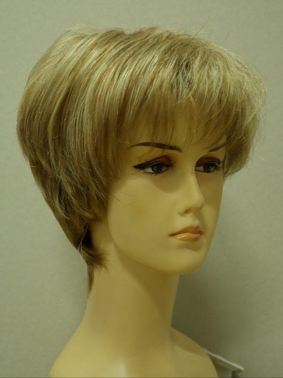 Krótka beżowy blond