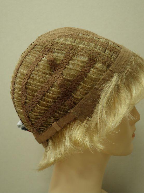 Krótka peruka jasny blond