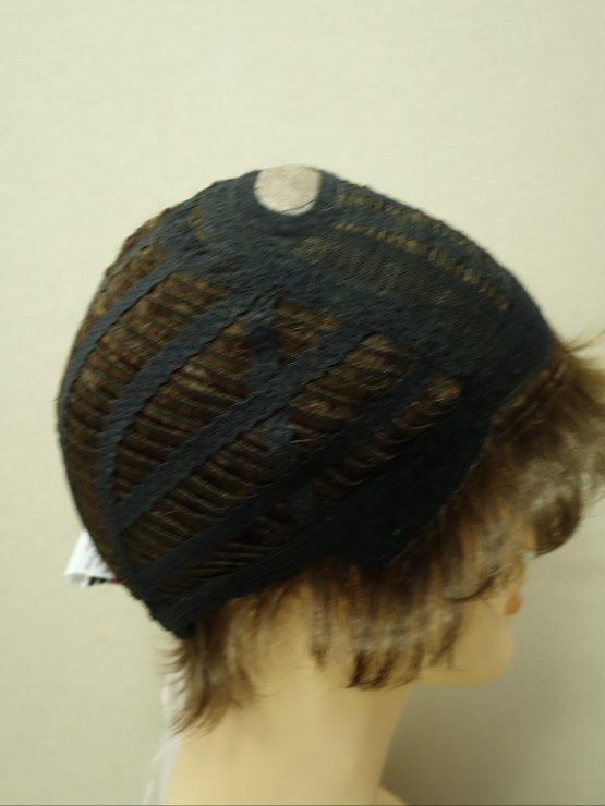 Krótka peruka ciemny brąz