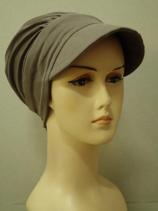 Kolor ziemi modna czapka z daszkiem