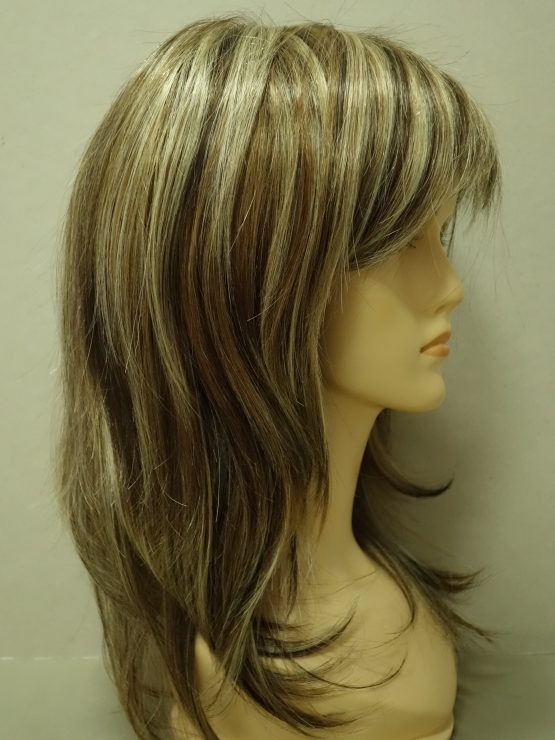 Długa peruka mix blondów