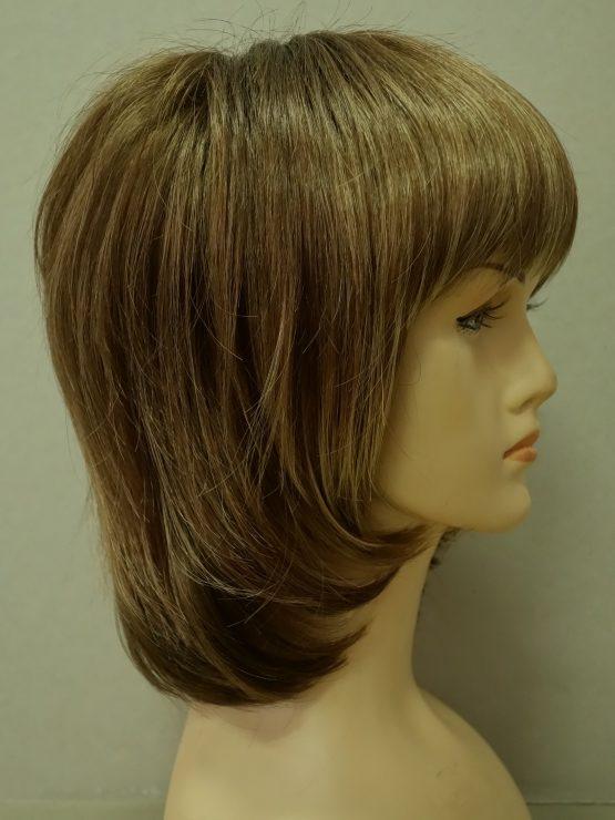 Krótka peruka ciemny blond