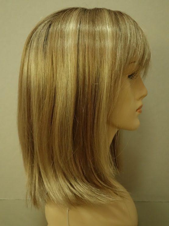 Półdługa peruka różne odcienie blondu