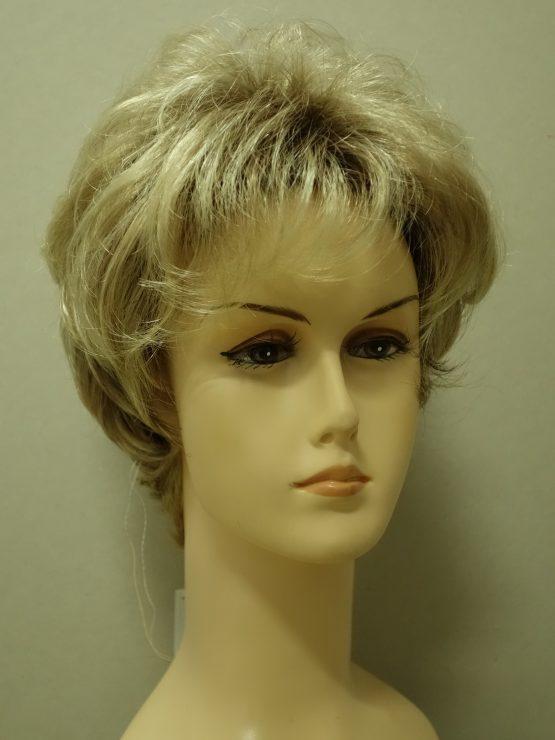 Krótka peruka blond lekko kręcona