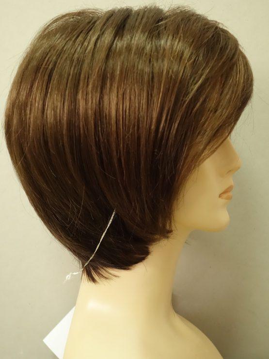 Krótka peruka w kolorze orzechowym