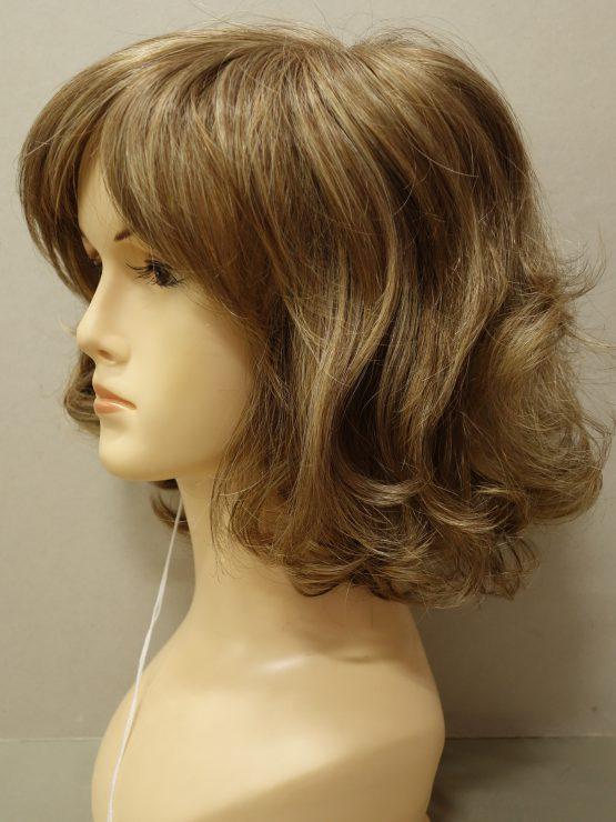 Krótka peruka złoty blond z refleksami
