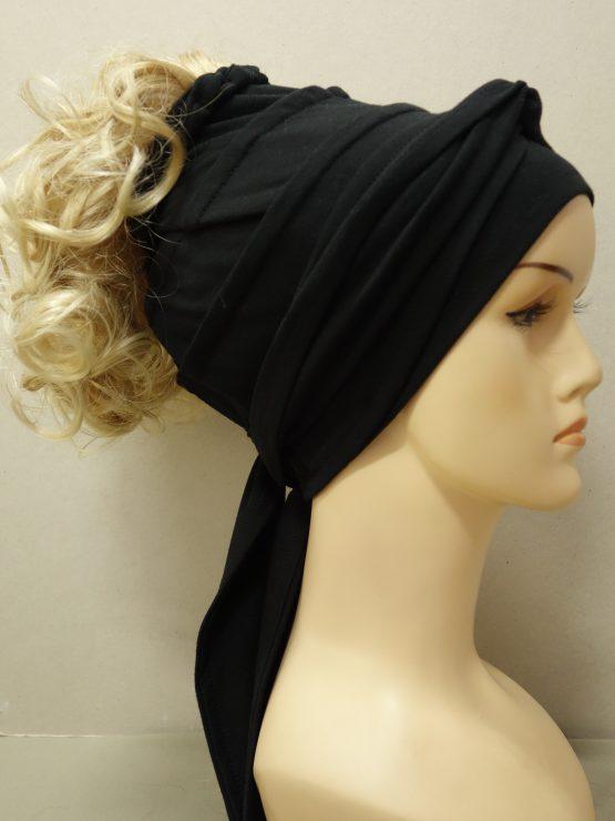 Włosy na opasce - krótkie kręcone jasny blond