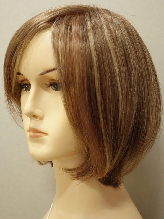 Krótka peruka różne odcienie blondu na ciemniejszej podstawie