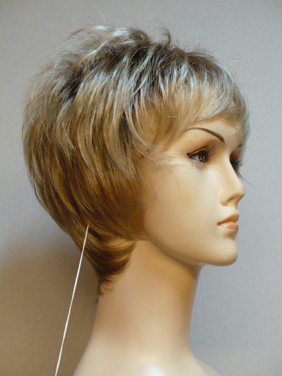 Krótka peruka słoneczny blond