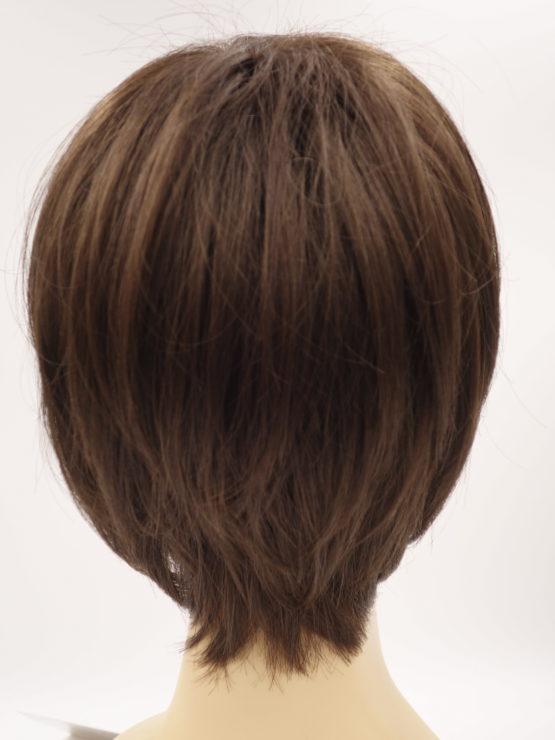 Krótka peruka czekoladowy brąz