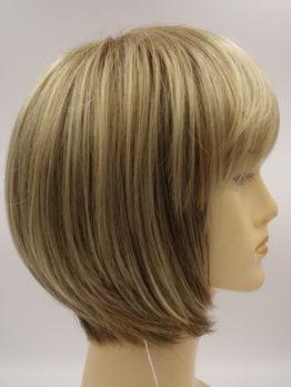 Krótka peruka złoty blond