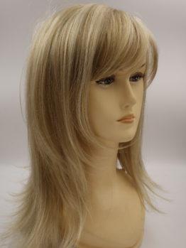 Długa peruka jasny blond