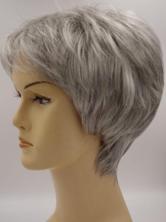 Krótka siwa peruka