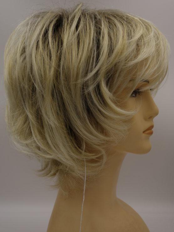 Krótka peruka platynowy blond