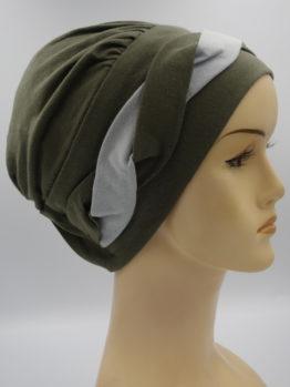 Khaki modna czapka