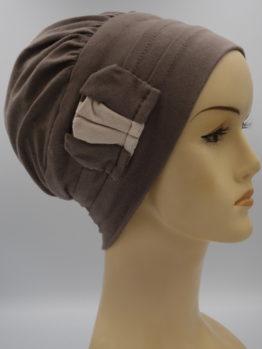 Kolor ziemi modna czapka