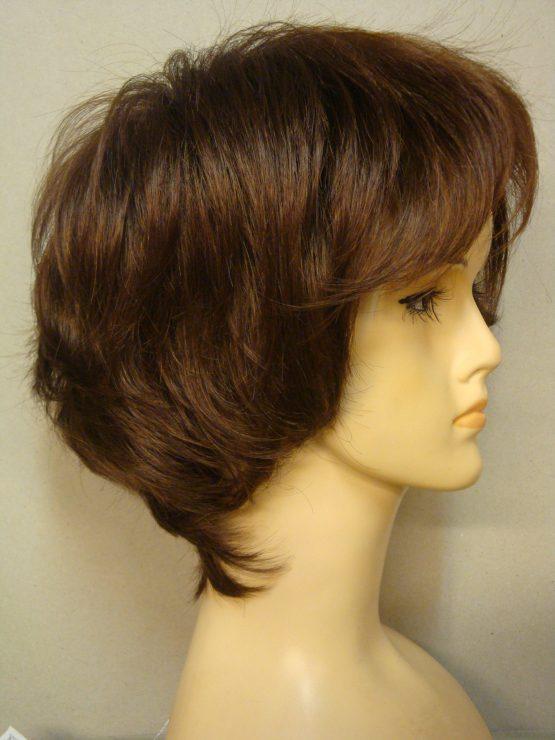Krótka peruka jasny brąz