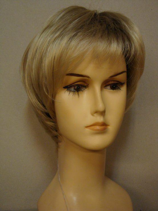 Krótka peruka jasny blond blond