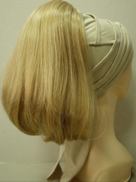 Włosy na opasce - proste blond z refleksami