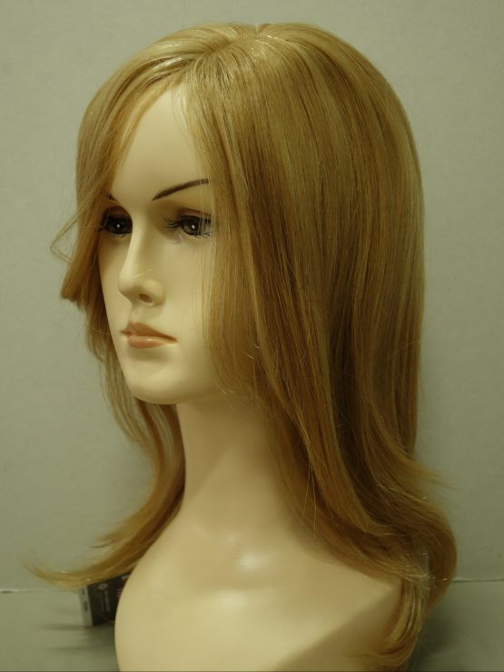Długa naturalna peruka w kolorze blond