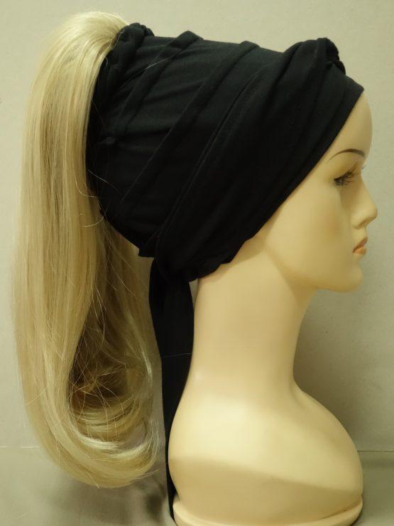 Włosy na opasce - proste złocisty blond