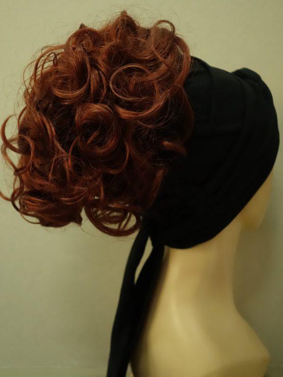 Włosy na opasce - kręcone rude