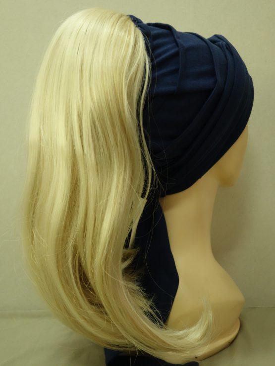 Włosy na opasce - długie jasny blond z refleksami