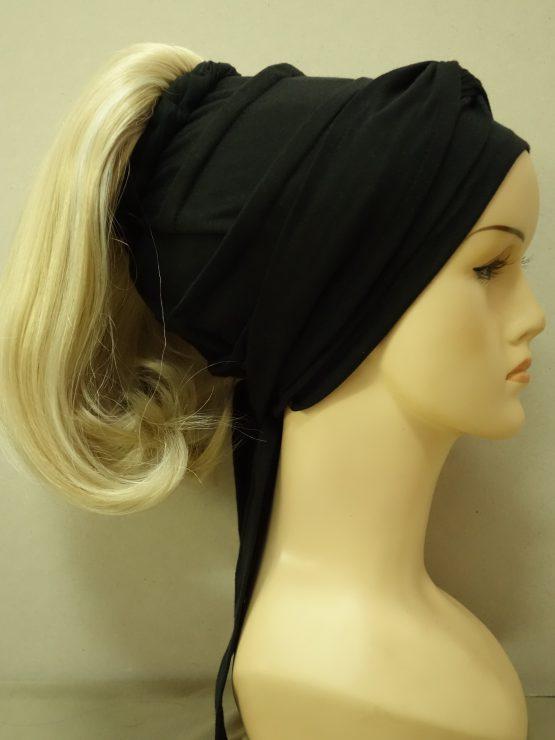 Włosy na opasce - półdługie jasny blond
