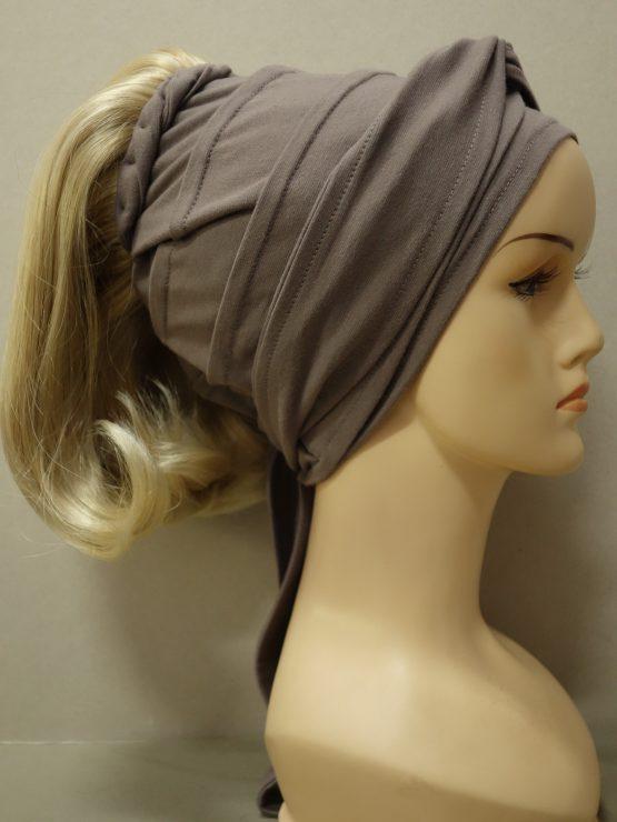 Włosy na opasce - półdługie blond