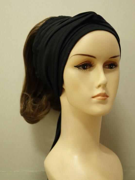 Włosy na opasce - półdługie ciemny blond