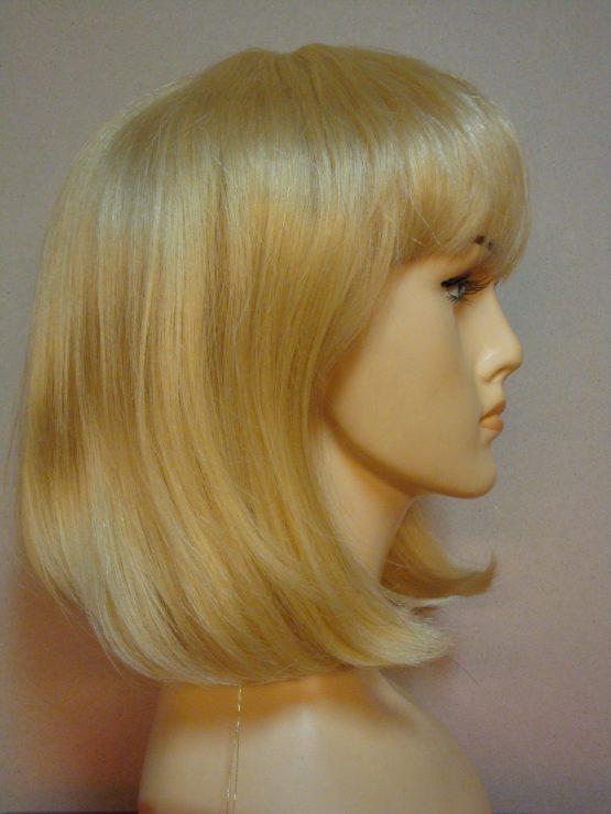 Naturalna półdługa jasny blond