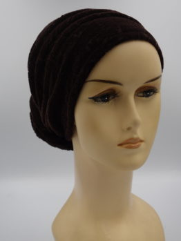 Brązowy turban