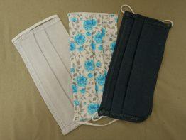 Maseczki bawełniane ochronne (zestaw 3 sztuk)
