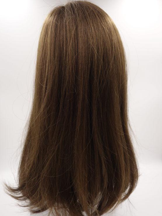 Długa peruka orzechowa