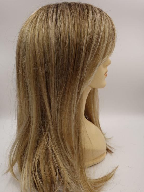 Długa peruka różne odcienie blondu