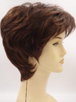 Krótka peruka w kolorze kasztanowym