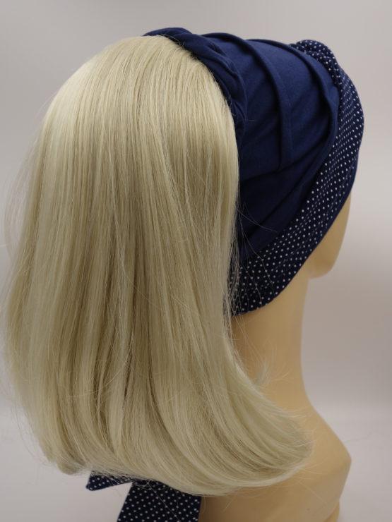 Włosy na opasce - jasny blond, długie, proste