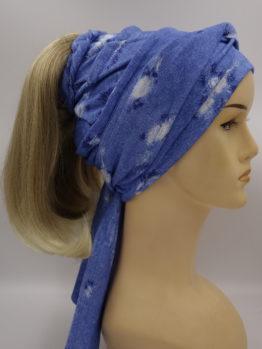 Włosy na opasce - blond, długie, proste